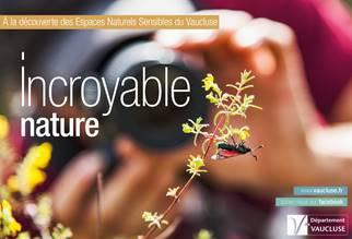 Inventaire faunistique pour améliorer la connaissance et développer le réseau des Espaces Naturels Sensibles dans le Vaucluse